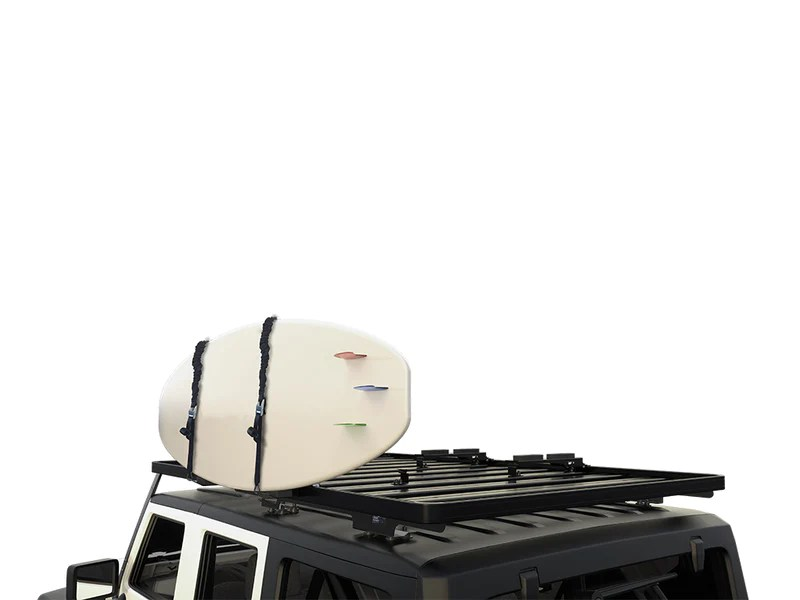 vertical surfboard carrier by front