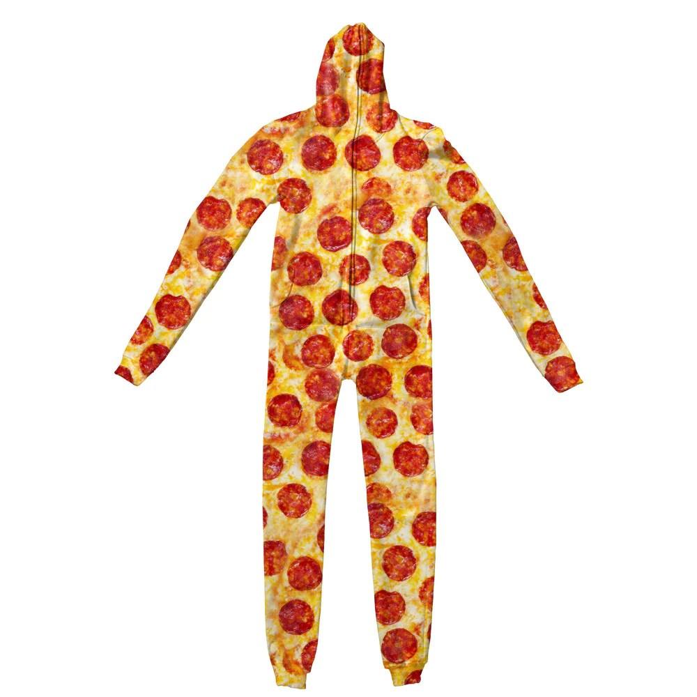 Pizza Invasion Adult Jumpsuit Shelfies