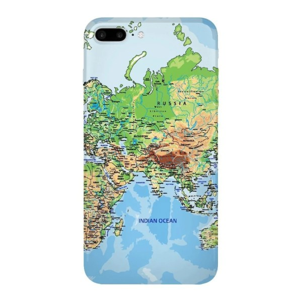 World Map Europe   Asia Smartphone Case   Shelfies World Map Europe   Asia Smartphone Case Gooten iPhone 7 Plus   All