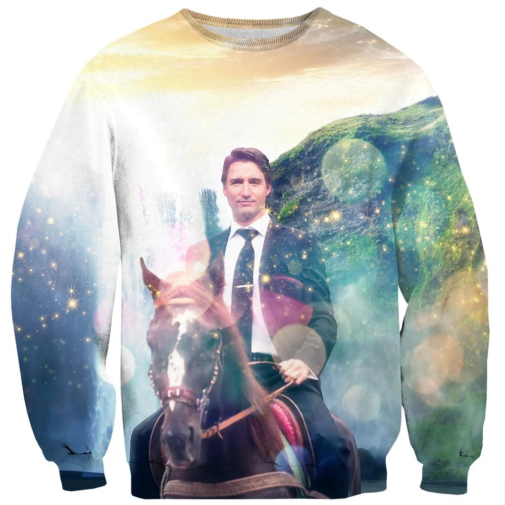 Dreamy Trudeau Sweater Shelfies