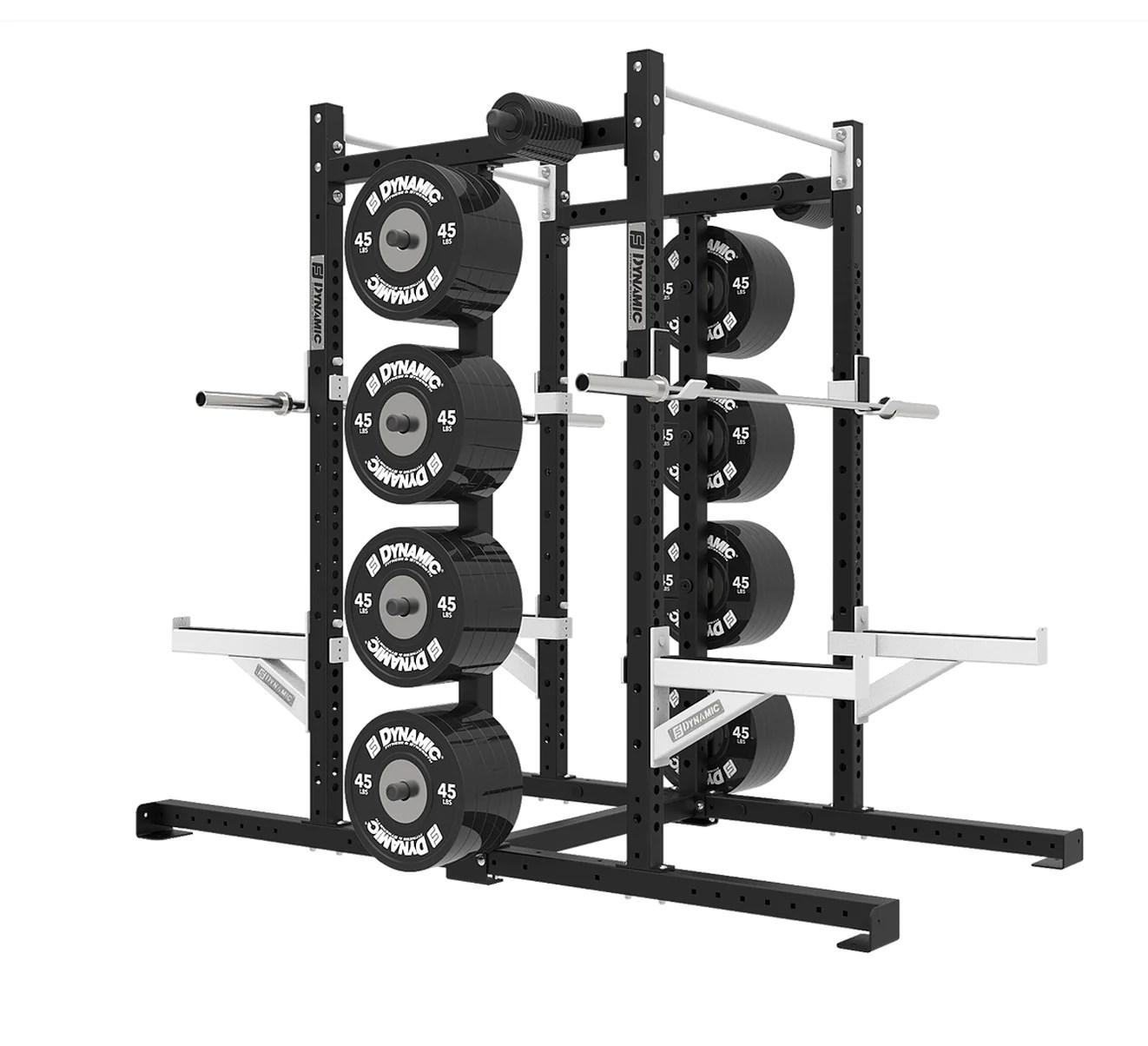 titan g2 8 double half rack single storage post