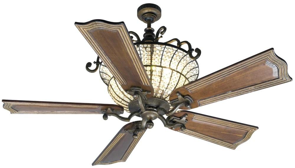 craftmade cortana 52 inch ceiling fan blade options model cr52ao