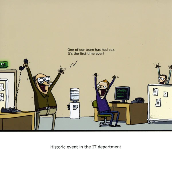 Funny Card By Wulffmorgenthaler IT Department Comedy