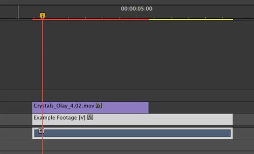 overlay footage in adobe premiere pro