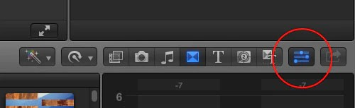 changing composite and blend modes in final cut pro