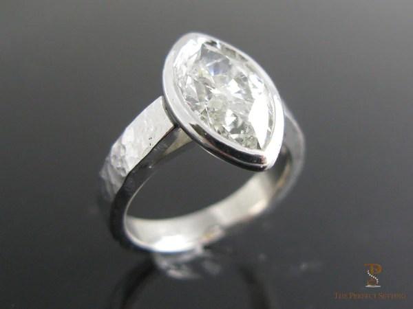 Marquise Diamond Bezel Set Ring The Perfect Setting