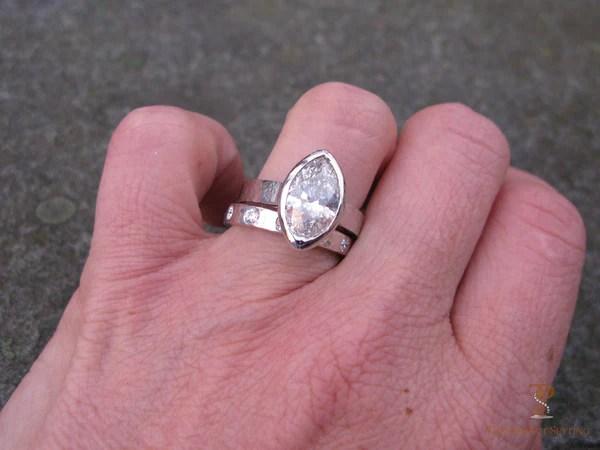 Marquise Diamond Bezel Set Ring The Perfect Setting
