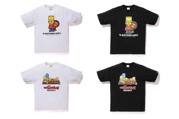 Bape X Simpsons