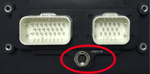 Reversing Camera connection
