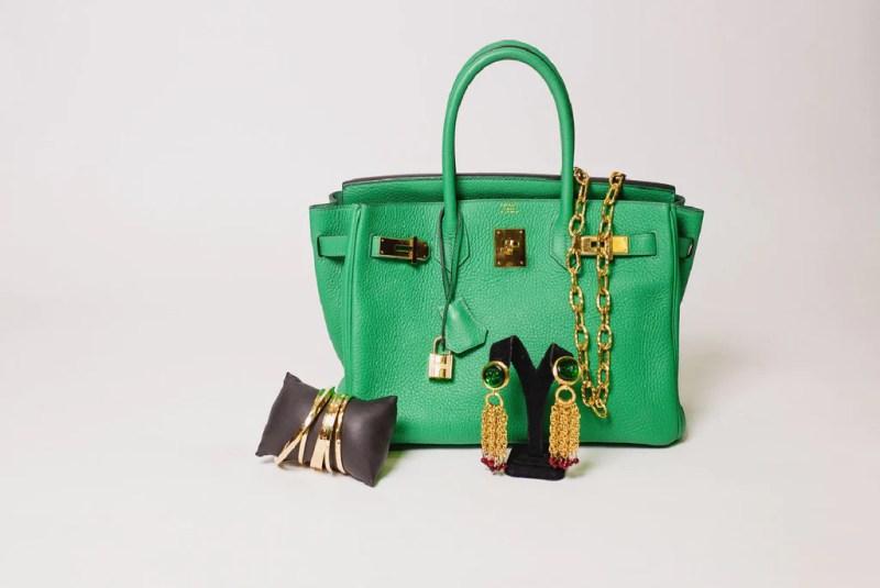 Green Hermes Birkin