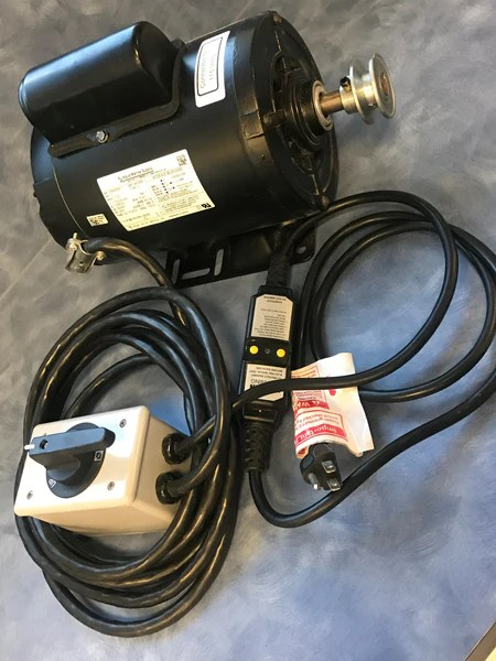 34HP Motor  TENV wSwitch, GFCI, & Wire – Lunmar Boat Lifts