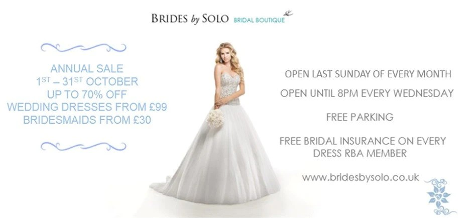Wedding Dresses, Bridemaids Shop In Newmarket, Suffolk