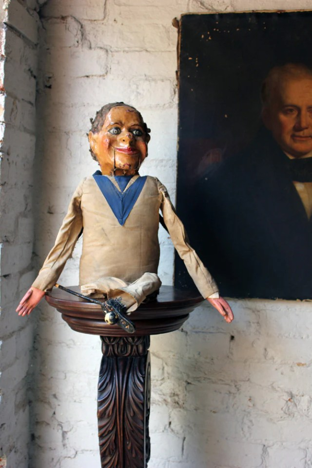 A Wonderful c.1880 Ventriloquist's Dummy; 'The Sailor' by ...