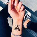 Wall E Temporary Tattoo Sticker Ohmytat