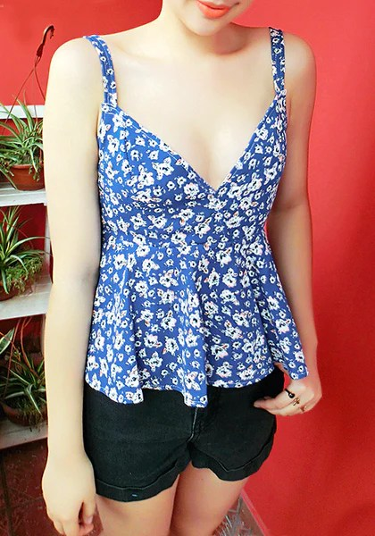 Fit-And-Flare Tank Top from Lookbook Store