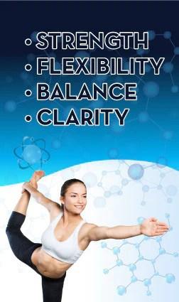 Strength, Flexibility, Balance & Clarity