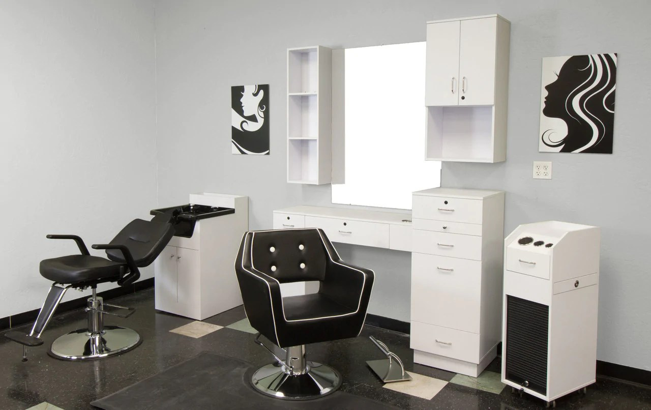shampoo cabinet with sink white