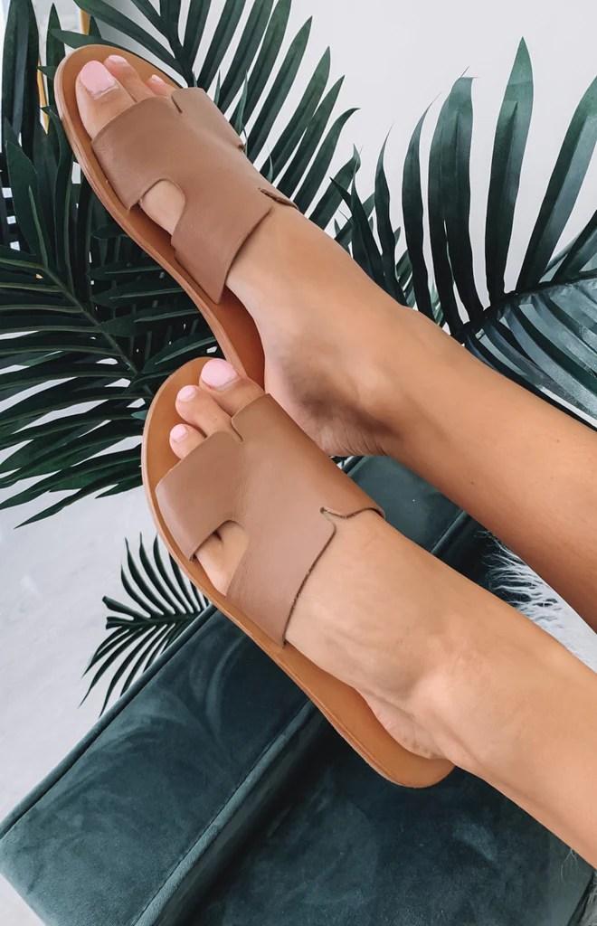 Just Because Agonda Sandal Tan 1