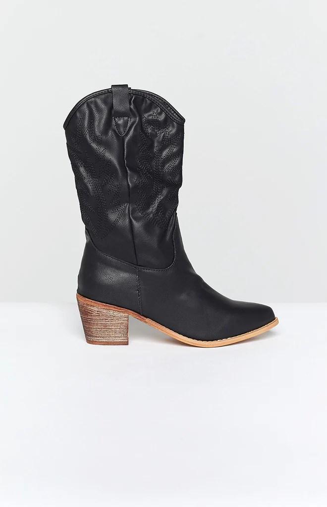 Saint Cowboy Boots Black 3