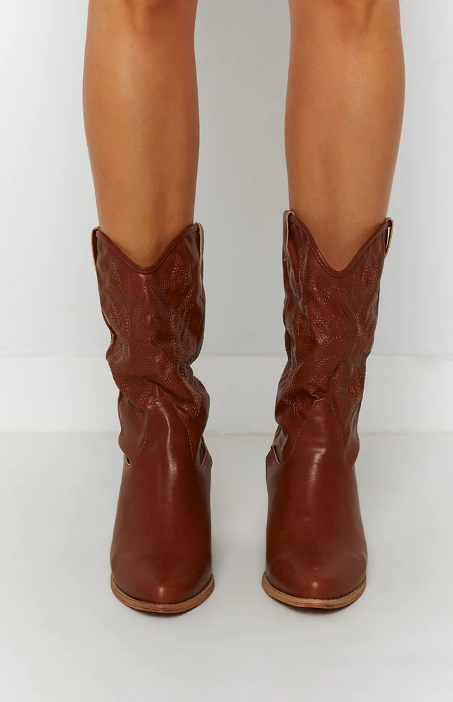 Saint Cowboy Boots Rust 5