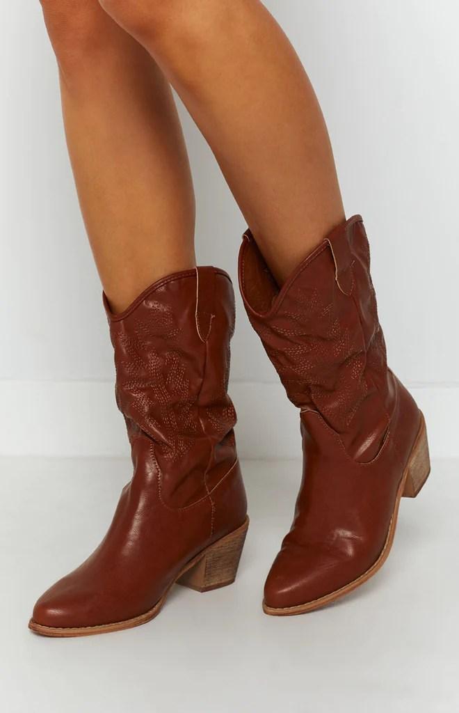 Saint Cowboy Boots Rust 6