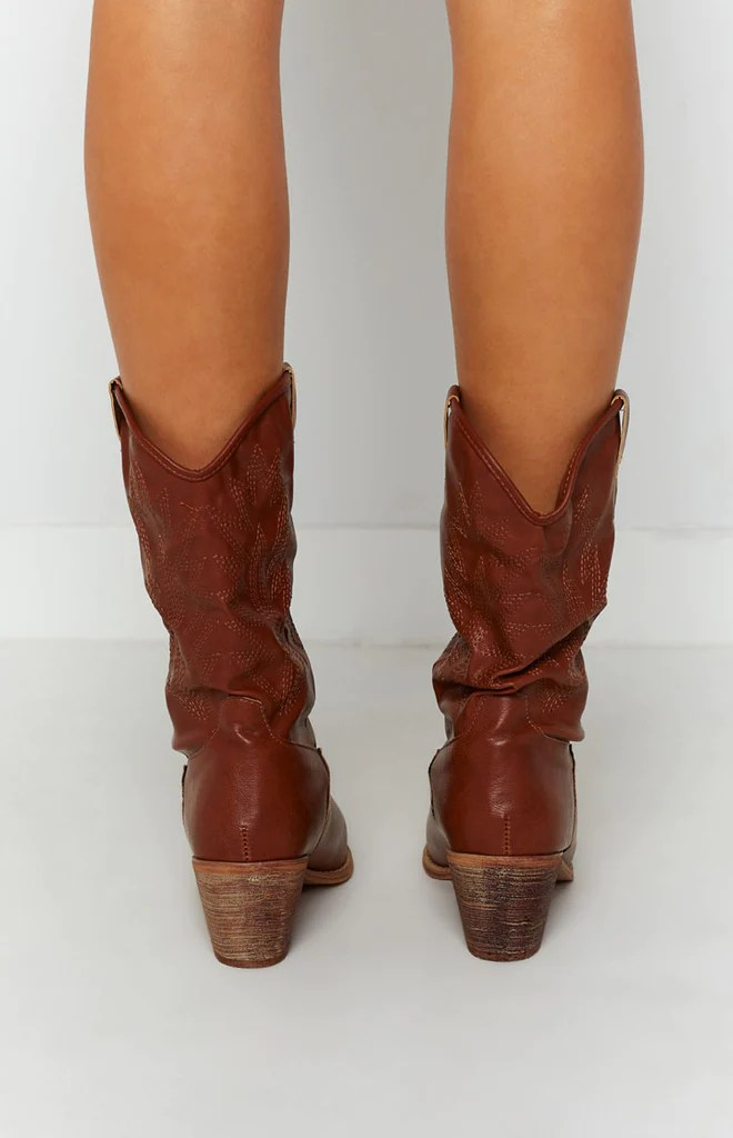 Saint Cowboy Boots Rust 7