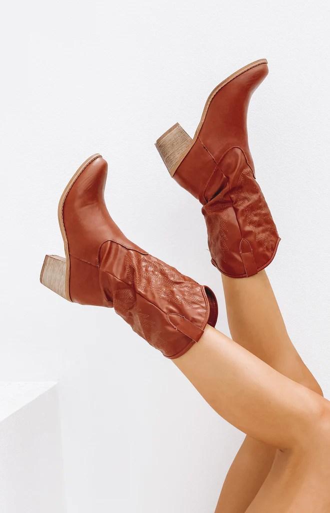 Saint Cowboy Boots Rust 1