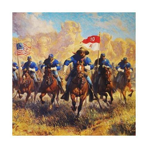 Buffalo Soldier Art Prints Gifts And Collectibles The