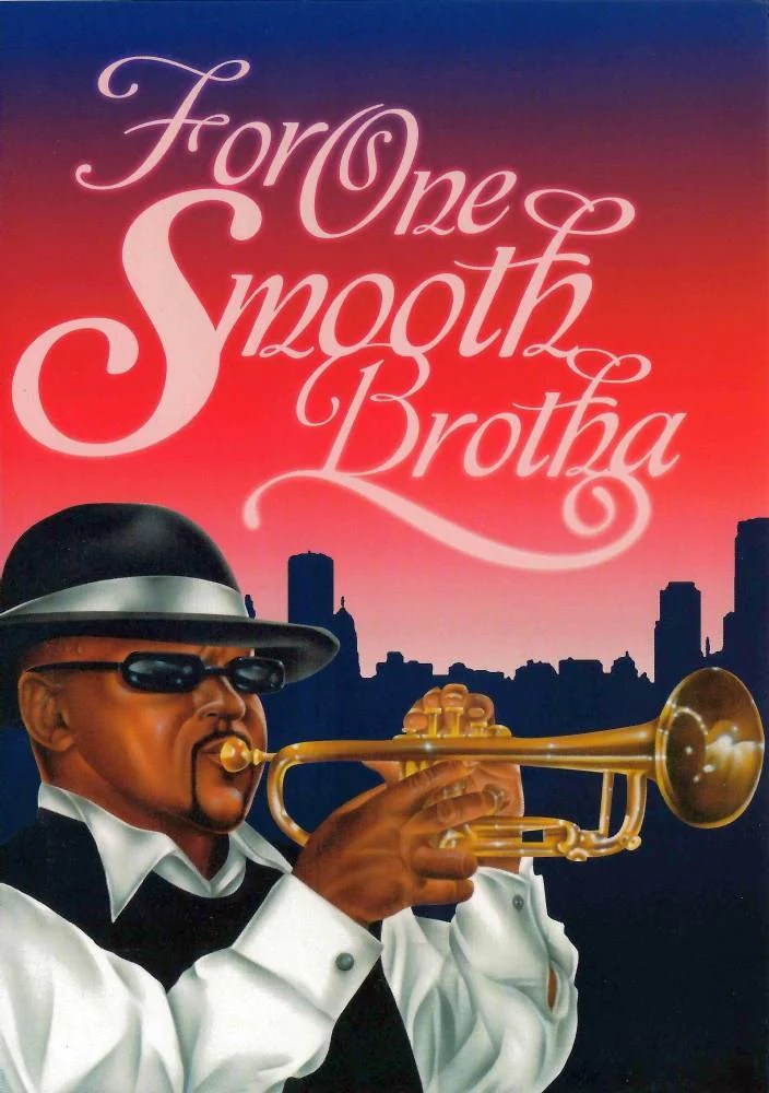 For One Smooth Brotha African American Birthday Card