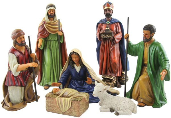 Come And Let Us Adore Him African American Nativity Scene