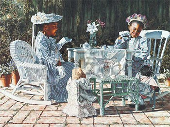 Tea Party By Melinda Byers The Black Art Depot