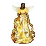 Tiffany Angel African American Christmas Tree Topper The Black Art Depot