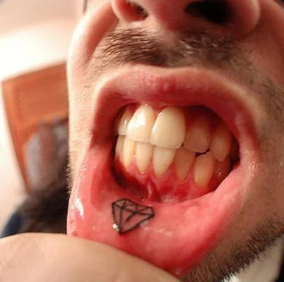 59 Painfully Cool Inner Lip Tattoos Temporary Tattoo Blog