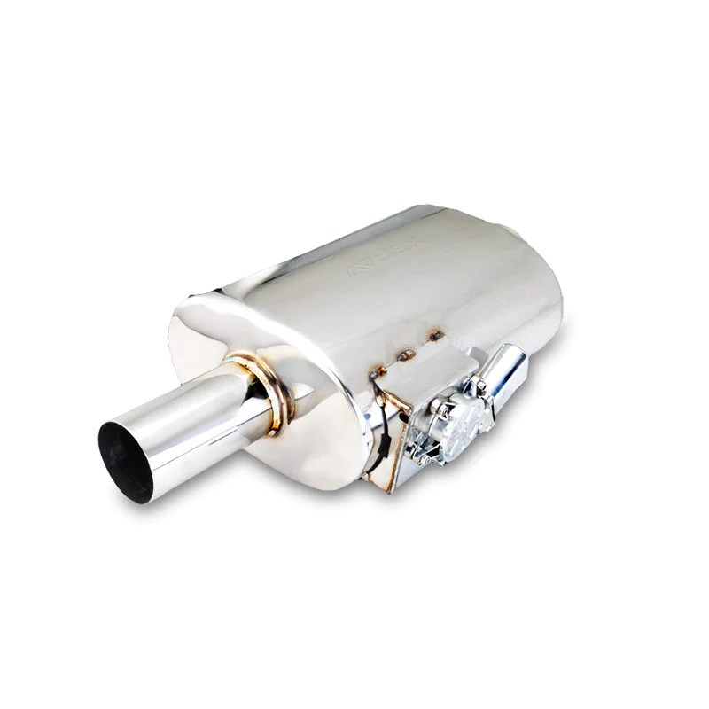 xforce oval 2 5in flanged inlet 2 5in single wall outlet varex muf fraal performance parts
