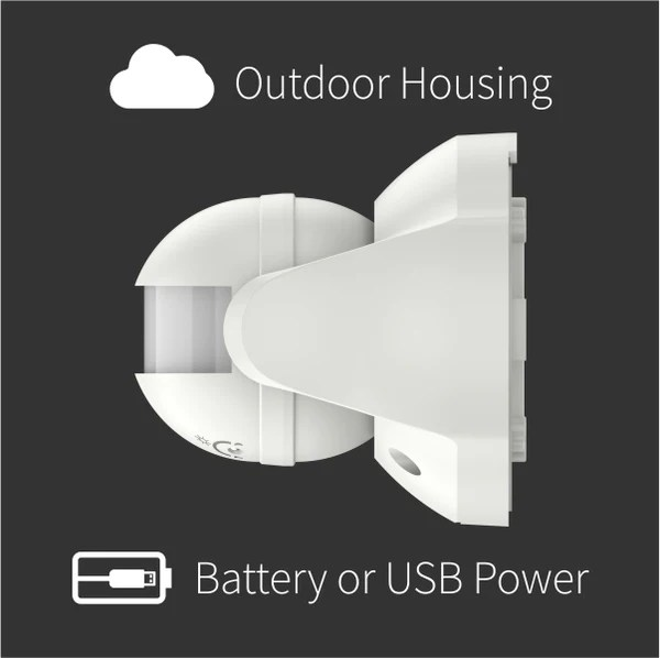 Z Wave Outdoor Light Sensor
