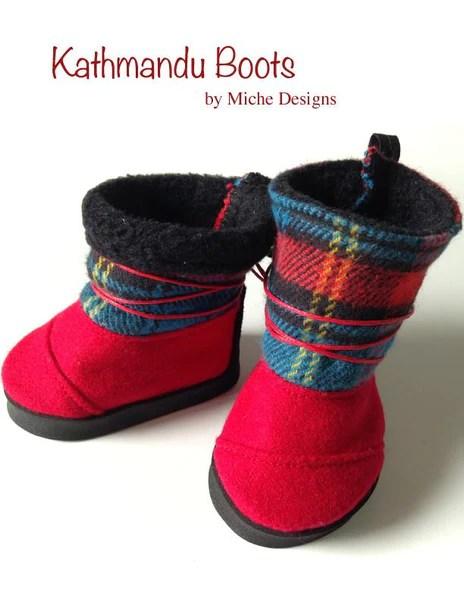 Kathmandu 18 Inch Doll Shoes Pattern Pdf Download Pixie
