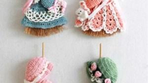 Mini Broom Dolls 1 Crochet Pattern Leaflet Maggie's Crochet