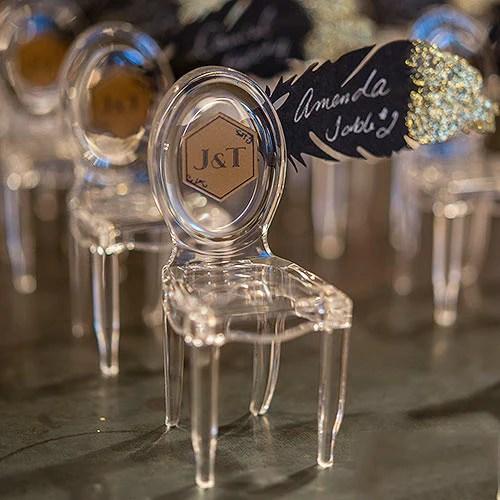 Mini Phantom Chair Wedding Party Favor Candy Cake Weddings