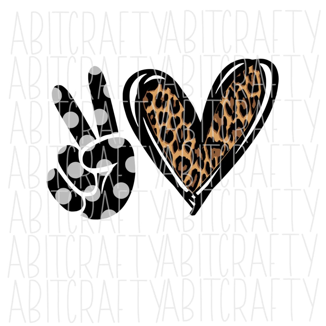 Download Peace Love Custom Polka Dot SVG/PNG/Sublimation - Add your ...