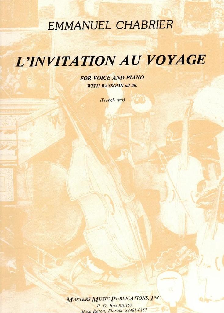 l invitation au voyage voice pn bsn