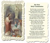 Image of COMMUNION UNISEX HOLY CARD