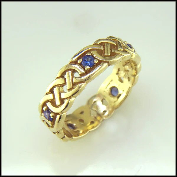 Large Open Josephine's Lover's Knot Sapphire or Ruby R63