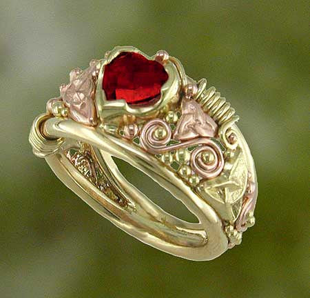 Ruby Frame Ring