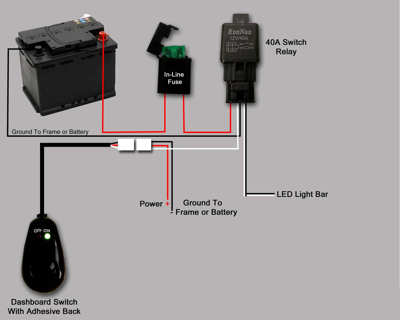 Wiring LED Lightbar