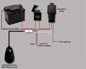 Wiring LED lightbar  help a newbie  Patrol 4x4  Nissan Patrol Forum