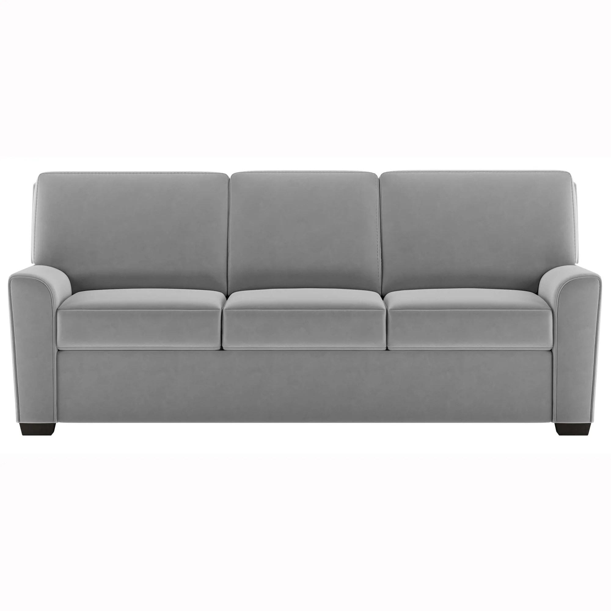 American Leather Klein Queen Sleeper Sofa Toray Ultrasuede French Gray
