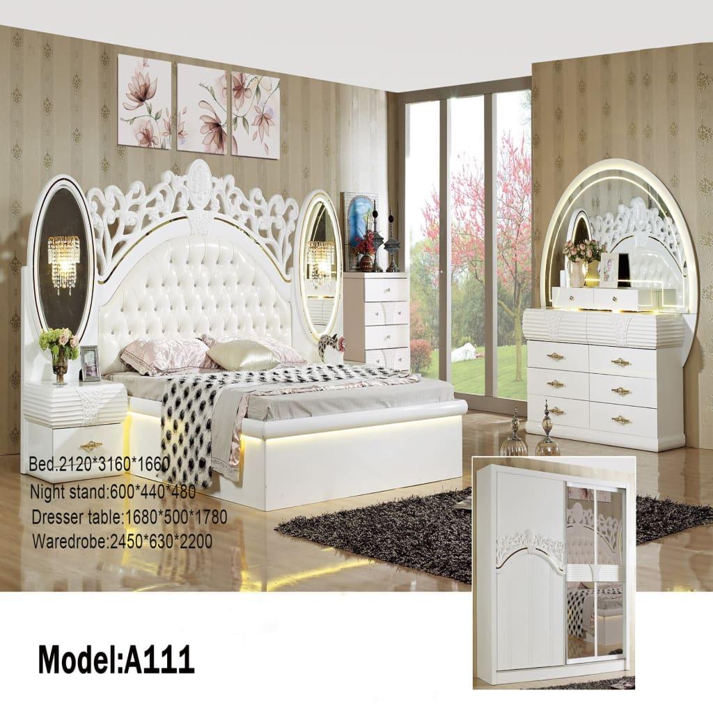 elegant design configurable bedroom set