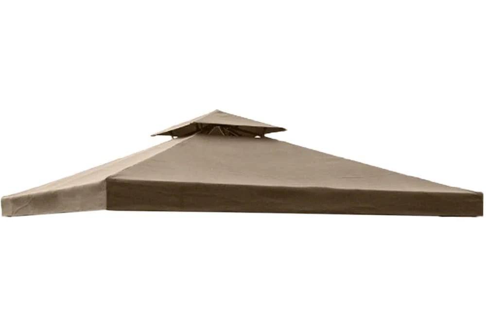 High Grade Replacement Canopy For 10x10 FT Garden Treasures Gazebos The Outdoor Patio Store