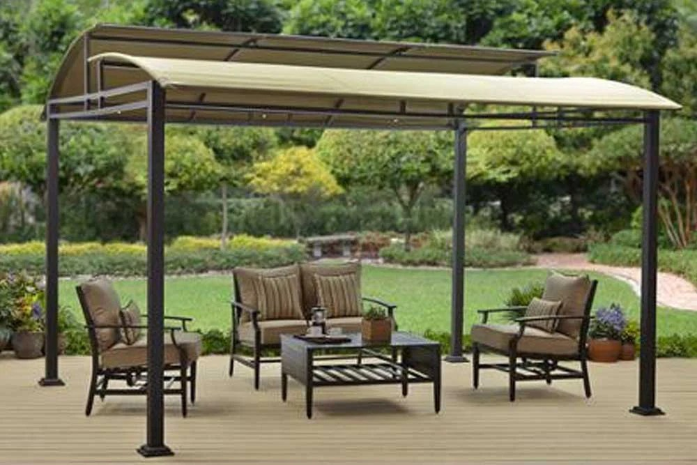 Replacement BHG Sawyer Cove 12x10 FT Barrel Roof Gazebo Canopy The Outdoor Patio Store