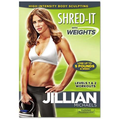 Jillian Michaels 'Shred It w/ Weights' DVD